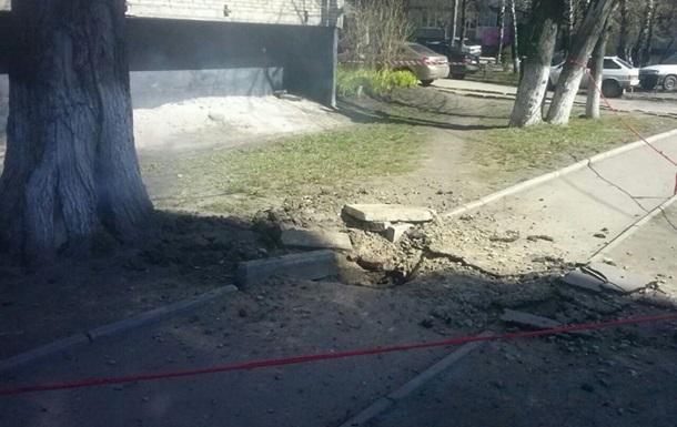 Во Львове произошел подземный взрыв