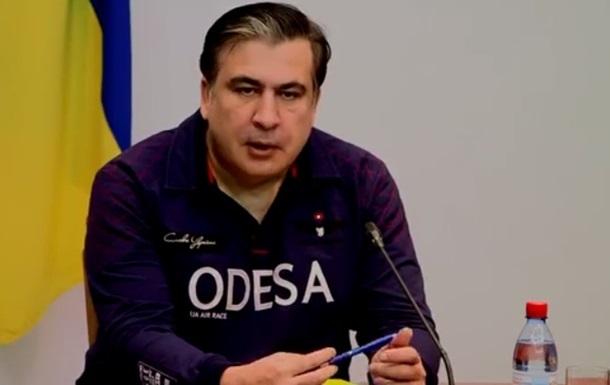 Саакашвили намерен встретиться с Порошенко из-за ситуации в облпрокуратуре