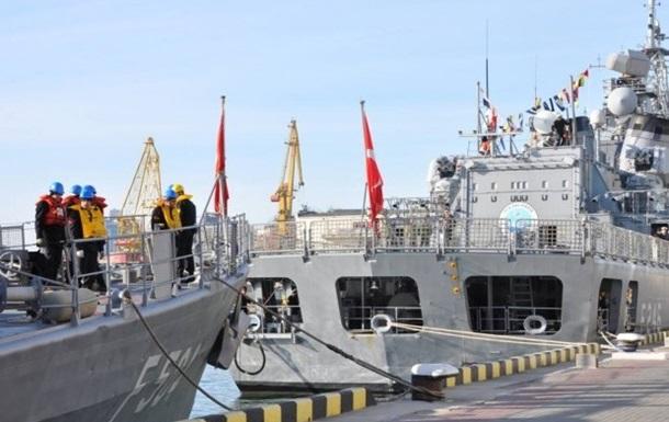 В одесский порт прибыли турецкие корабли