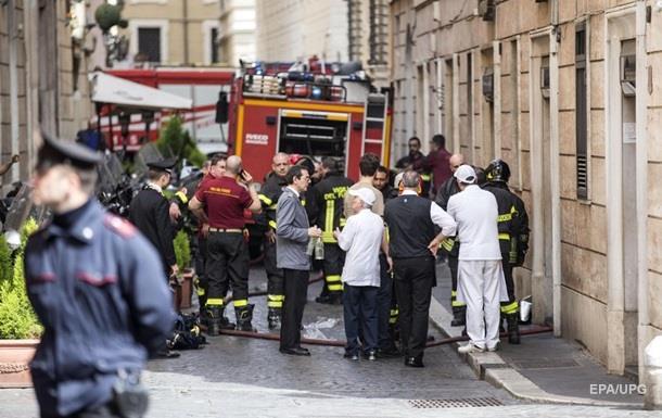 В историческом центре Рима произошел взрыв