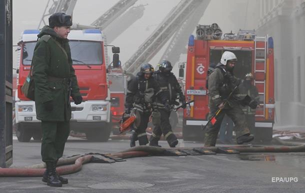 Пожар в здании Минобороны РФ полностью потушен
