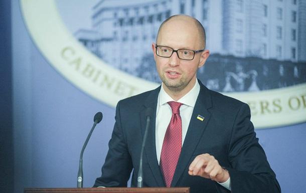 Яценюк: Место Украины - в ЕС и НАТО