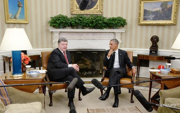 Порошенко розповів про зустріч з Обамою