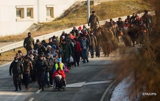 В Альпах подрались мигранты и полиция