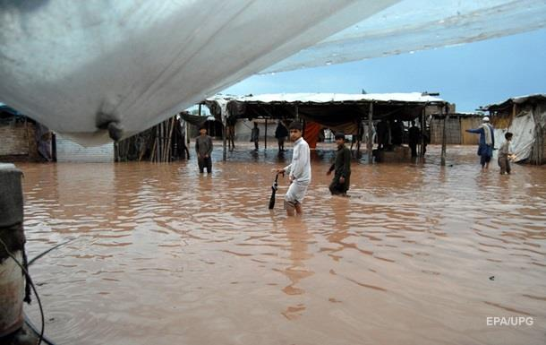 В Пакистане произошло мощное наводнение