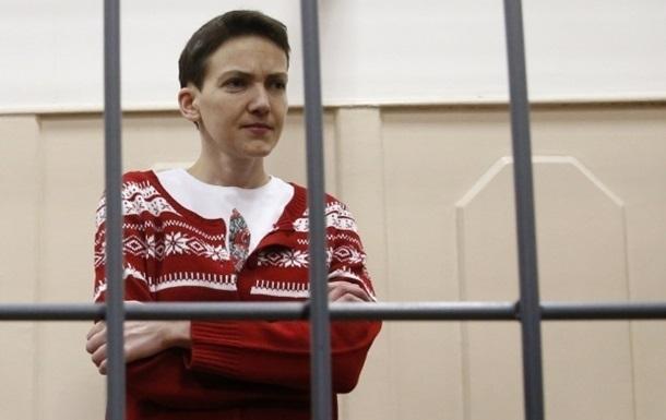 Савченко начинает сухую голодовку с 6 апреля