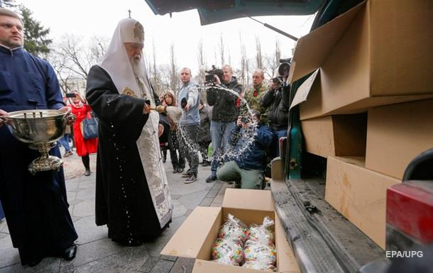 Киевский патриархат не продавал гуманитарку – полиция