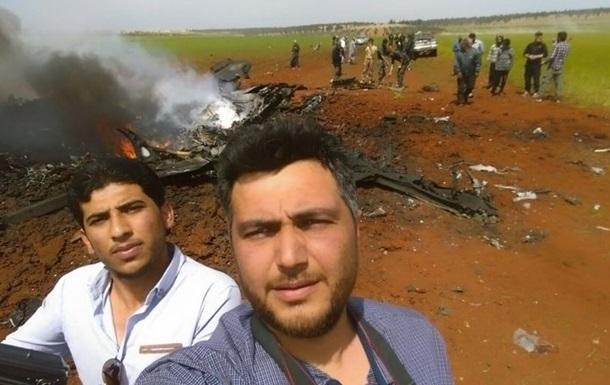 В Сирии сбили боевой самолет - СМИ