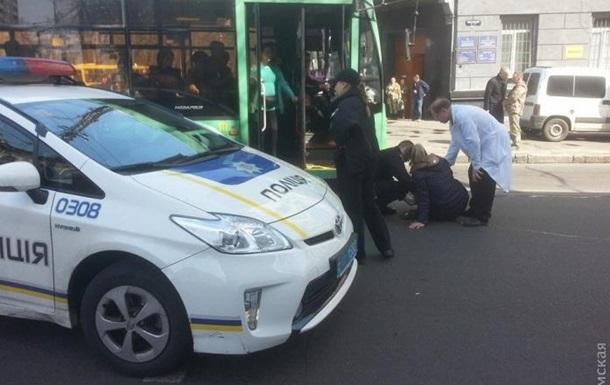 В Одессе полицейские сбили пешехода