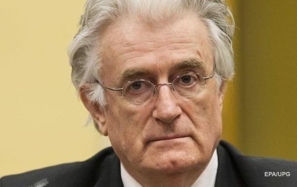 Караджич просит выпустить его на свободу из-за проблем со здоровьем