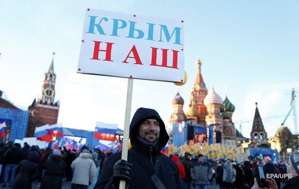 Россияне против возвращения Крыма Украине - опрос
