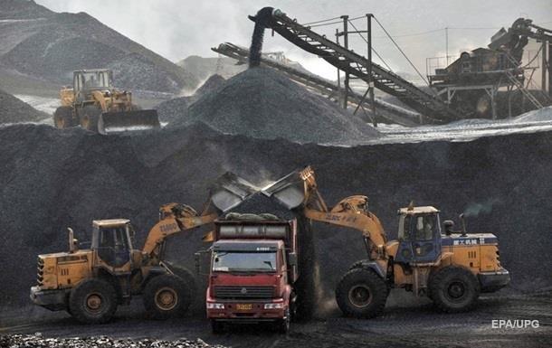 Украина наращивает добычу угля