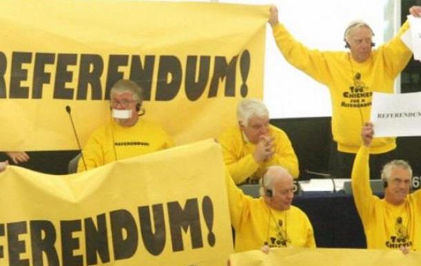 Референдум как предсказание