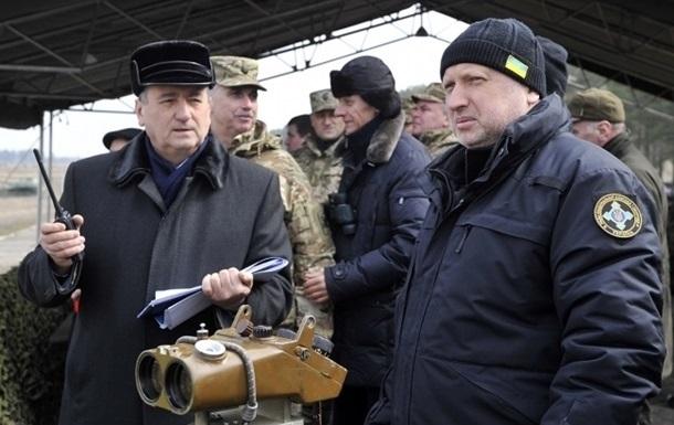 Турчинов посетил самую  горячую  точку в зоне АТО