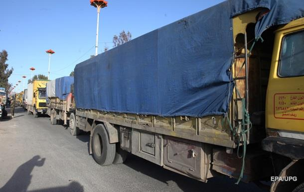 Гуманитарную помощь для Сирии разворовывают - ООН