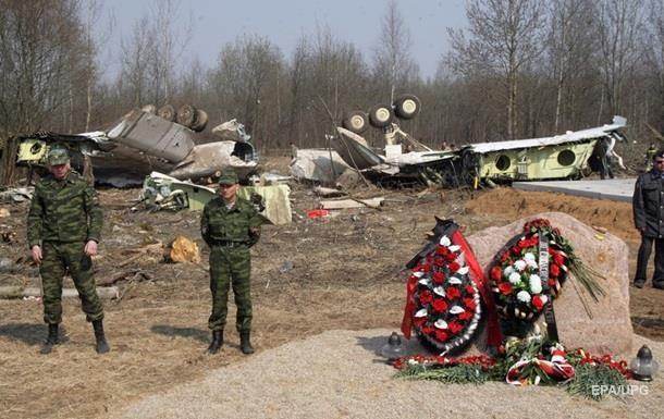 Тела жертв крушения самолета под Смоленском заменили - СМИ