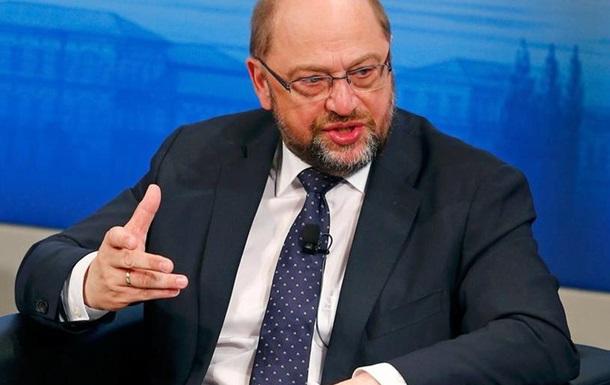 Шульц: Треба боротися за цивілізаційний проект Європа