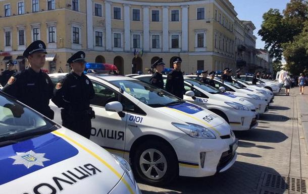 Поліцію Одеси перевели на посилений режим