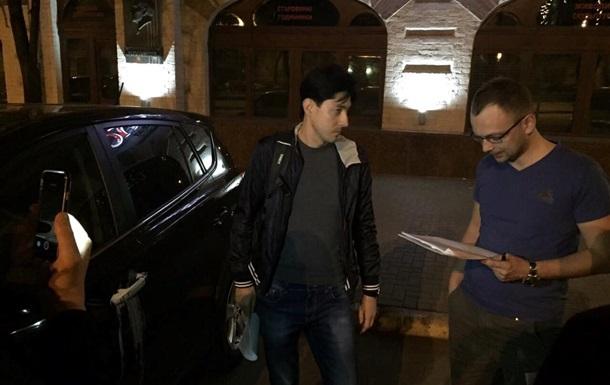 Заму Шокина зачитали подозрение на улице Киева