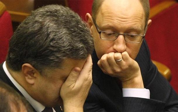 Коалиция  на двоих . Дела киевские.