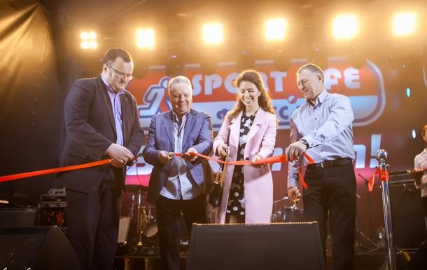 В Черновцах открылся крупнейший фитнес-клуб американского формата Sport Life