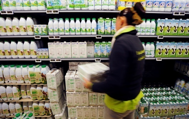 Украина поставила в ЕС первую партию  молочки