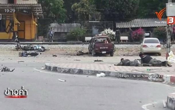 Взрыв в Таиланде: погибли полицейский и ребенок
