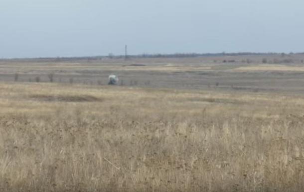 Бойцы АТО показали, как подбили танк из ПТУР
