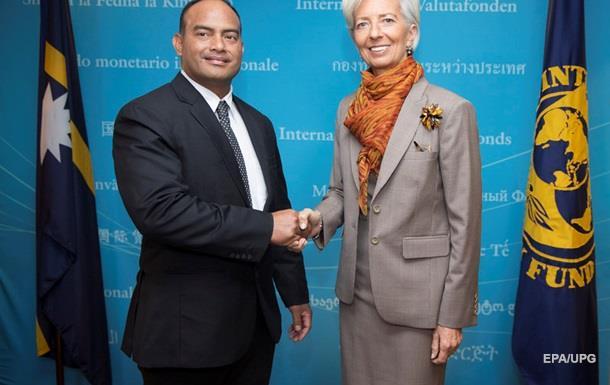 Карликовое государство Науру вошло в состав МВФ