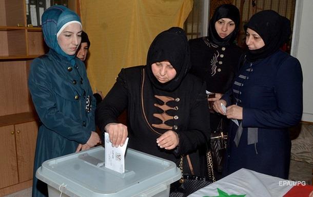 В Сирии завершилось голосование на парламентских выборах