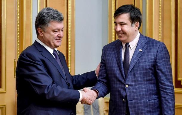Как президент президенту: Саакашвили поставил ультиматум Порошенко