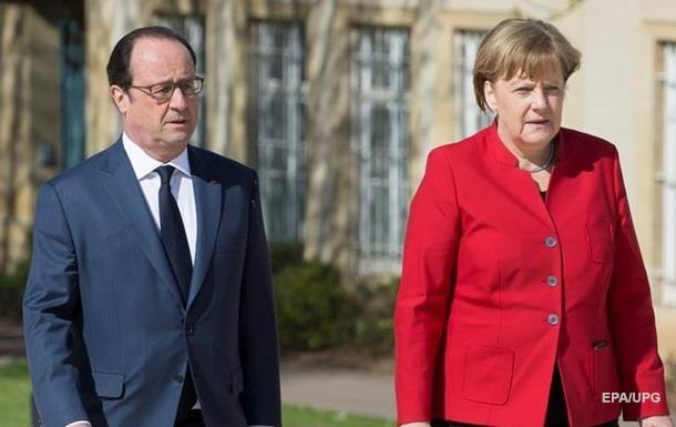 Олланд и Меркель призвали РФ освободить Савченко