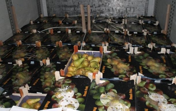 В России уничтожили 20 тонн польских груш