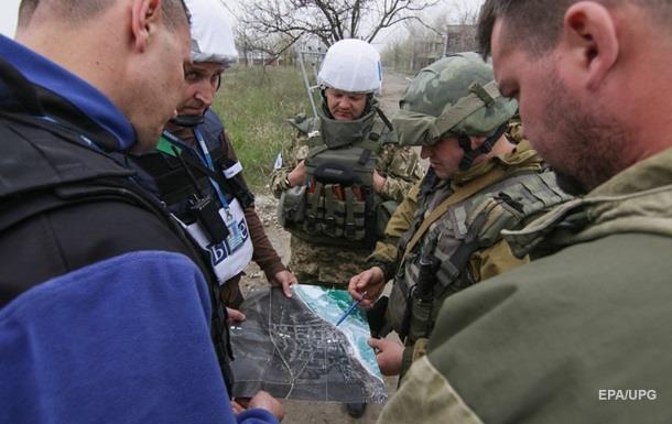 Авдеевку обстреляли в присутствии ОБСЕ – штаб