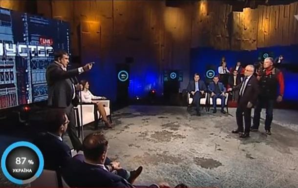 Саакашвили поскандалил с экс-министром из-за Крыма