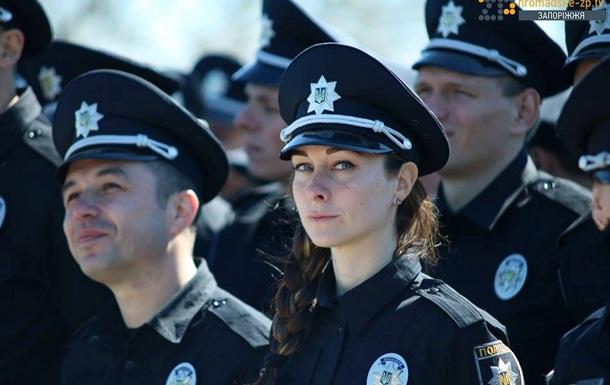 В Запорожье приняла присягу новая полиция