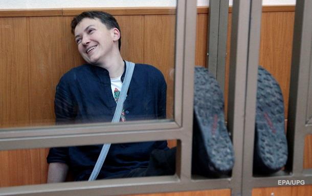 Адвокат: Состояние Савченко критическое