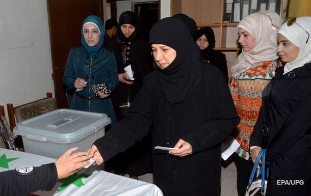 Явка на парламентских выборах в Сирии превысила 57%