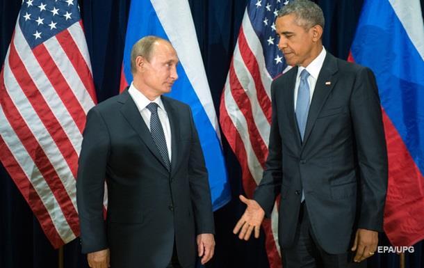 Обама поговорил с Путиным об Украине и Сирии