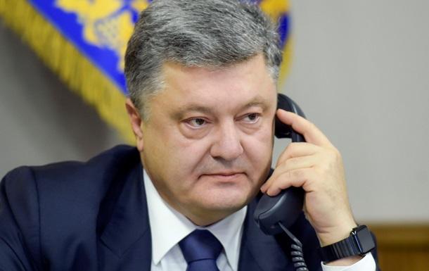 Порошенко обговорив з Путіним Савченко і ГРУвців