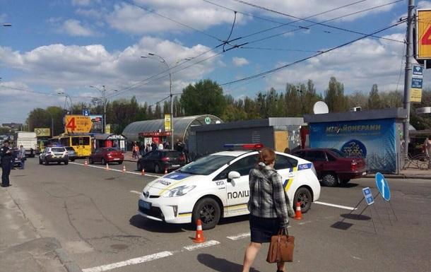 Отстранены от службы патрульные, сбившие женщину в Киеве