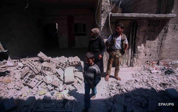 В Сирии жертвами авиаударов стали 44 человека