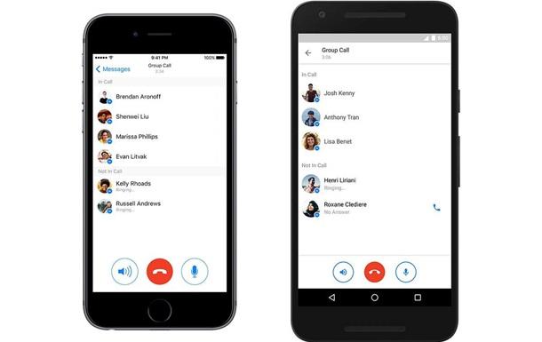 В Facebook Messenger добавили групповые голосовые чаты