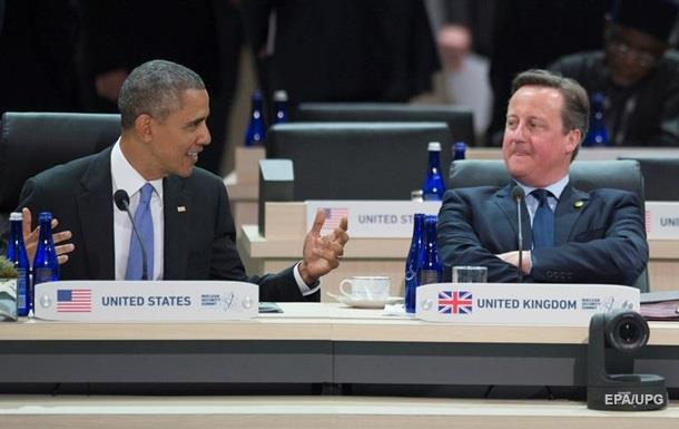 Обама назвав британцям причини залишитися в ЄС