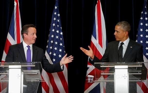 Обама и Кэмерон обсудили конфликт в Украине