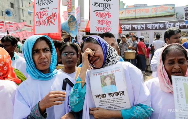 В Бангладеш прошла массовая демонстрация текстильщиков