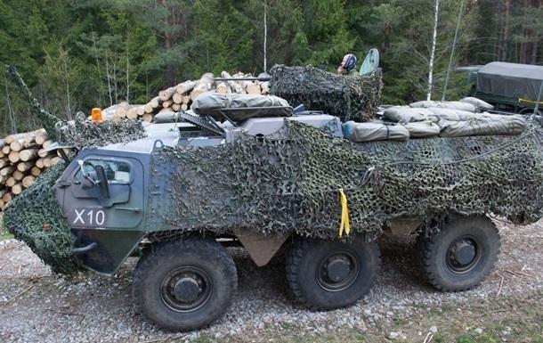 Эстония получила бронетранспортеры от Нидерландов
