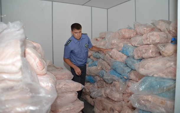 В России уничтожили 20 тонн украинской говядины