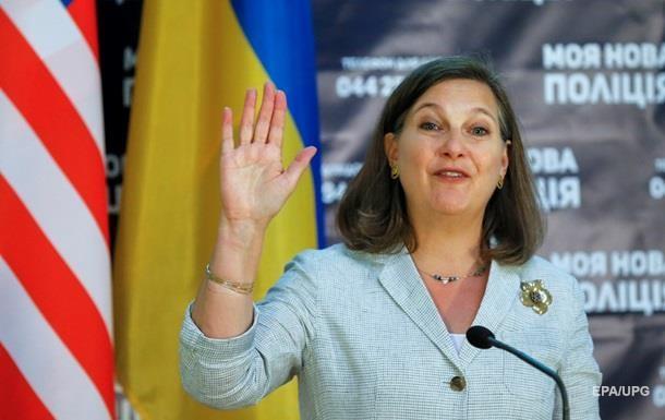 Помощник госсекретаря США Нуланд приедет вКиев