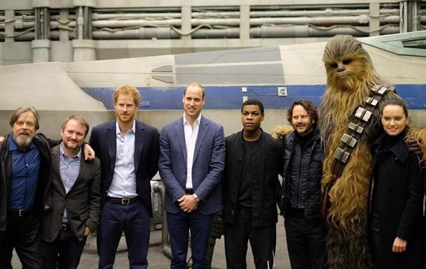 Британские принцы снялись в  Звездных войнах  - СМИ